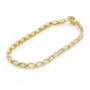 Opal Jewelry 14k Yellow Gold Solid Light Opal Bracelet, opal jewellery