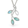 Opal Jewellery Sterling  Silver Solid Light Opal  Pendant , opal jewellery