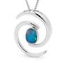 Opal Jewellery Sterling  Silver Light Opal Doublet  Pendant , opal jewellery
