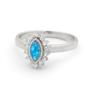 Opal Jewellery Sterling Silver Solid Light Opal Ring, opal jewellery