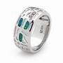 Opal Jewellery Sterling Silver Solid Inlay Opal Ring, opal jewellery