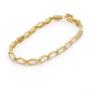 Opal Jewellery 14k Yellow Gold Solid Light Opal Bracelet, opal jewellery