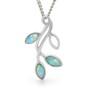 Opal Jewellery Sterling  Silver Solid Light Opal  Pendant , opal jewellery