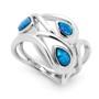 Opal Jewellery Sterling  Silver Solid Light Opal  Ring , opal jewellery